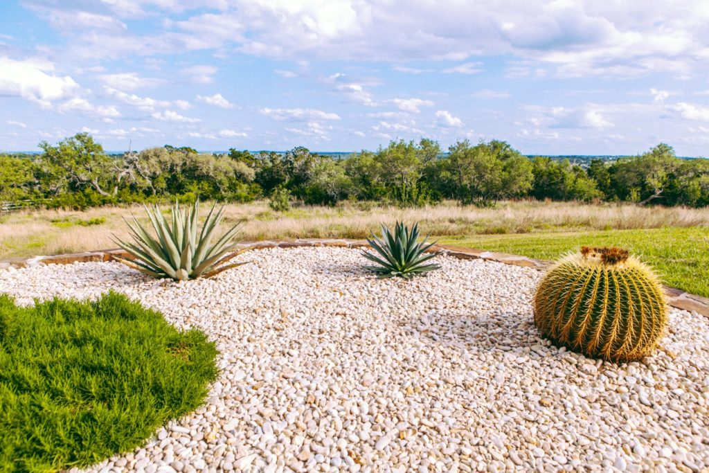 Bear Creek custom landscape design by LUSH Greenscape Design in New Braunfels, TX
