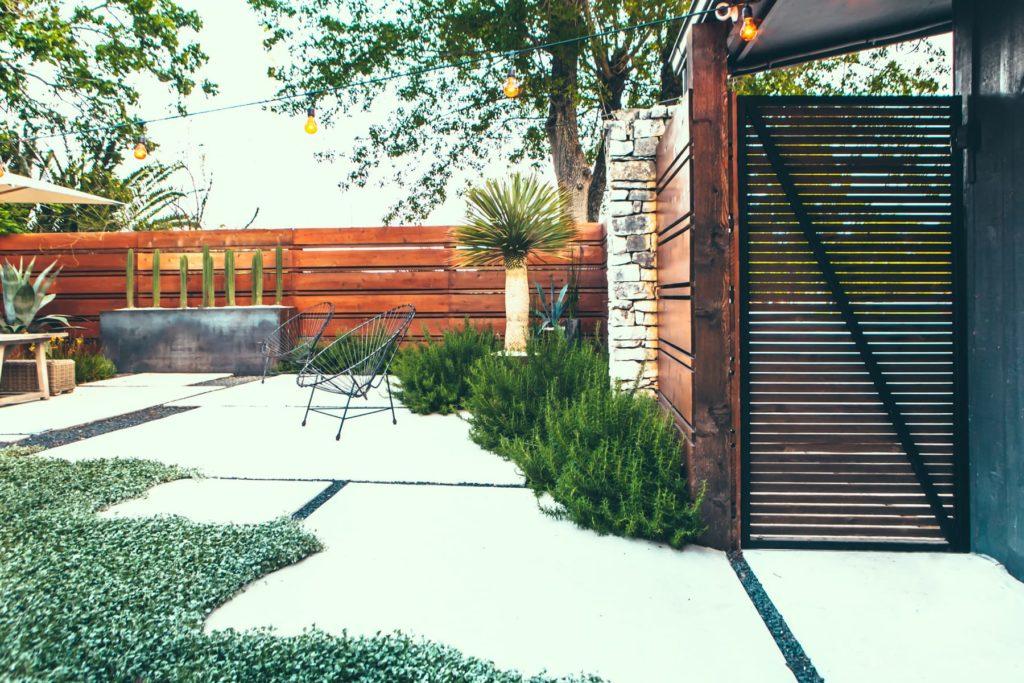 Buffalo Haven custom landscape design by LUSH Greenscape Design in Lake McQueeney, TX