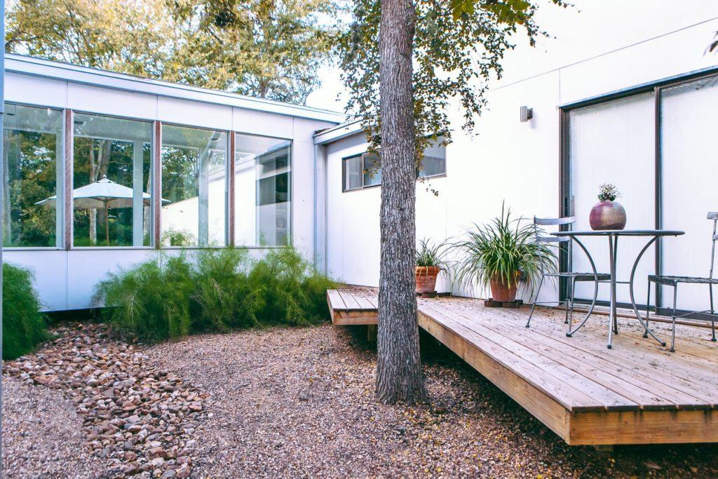 Laman Residence custom landscape design by LUSH Greenscape Design in San Marcos, TX