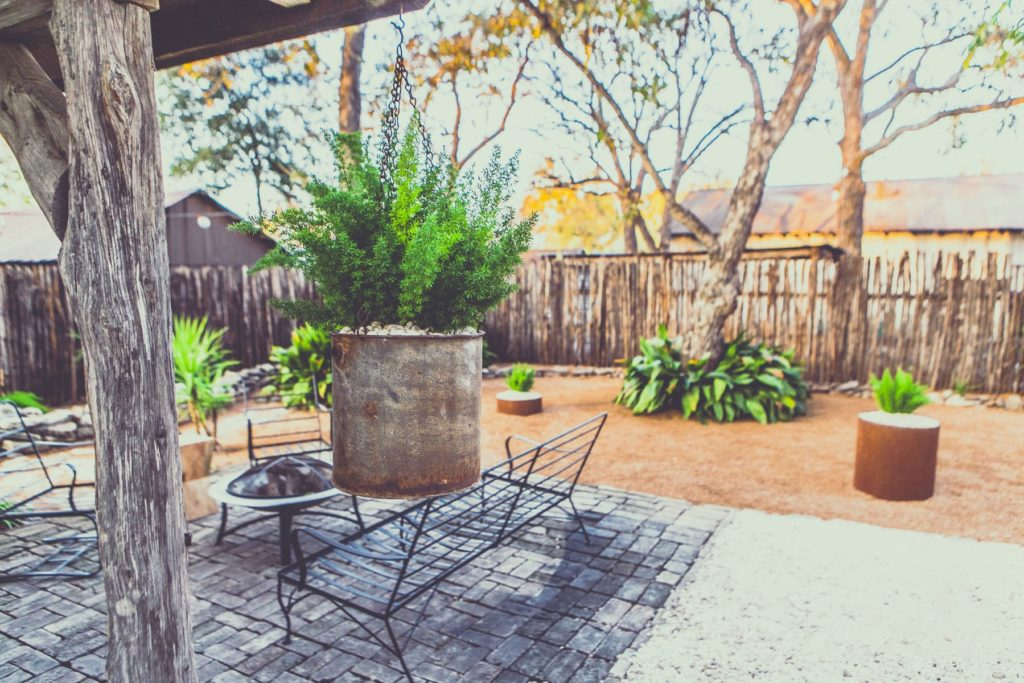 Mill Street custom landscape design by LUSH Greenscape Design in New Braunfels, TX