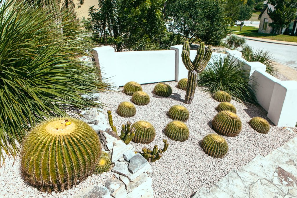 Mission Trail custom landscape design by LUSH Greenscape Design in New Braunfels, TX