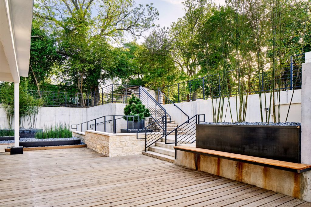 iGavel landscape design project by LUSH GreenScape Design in New Braunfels, TX