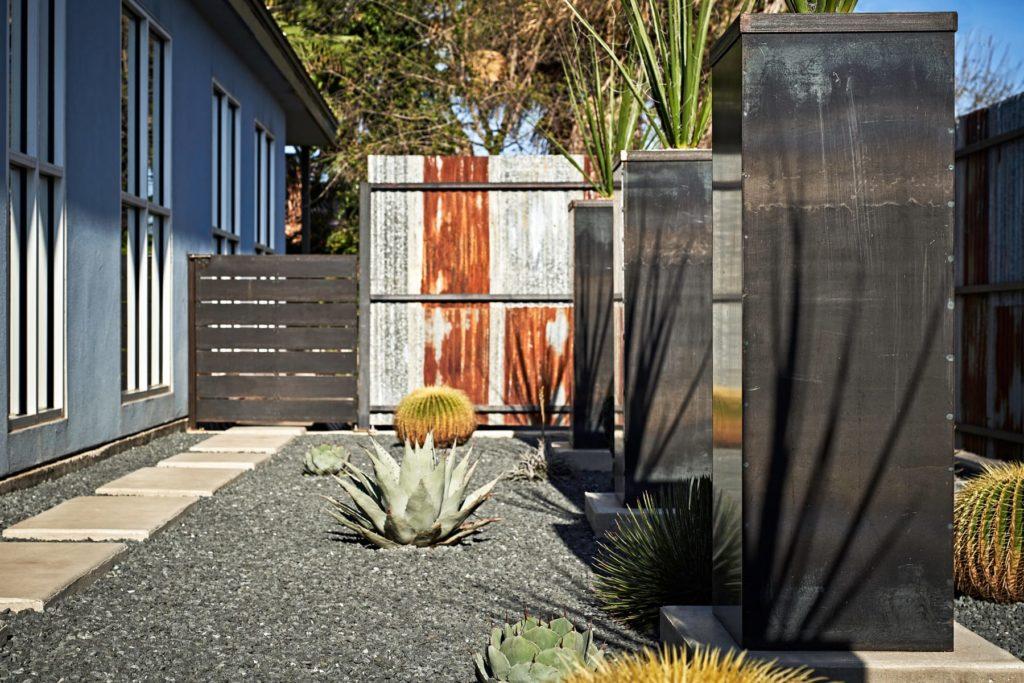 Smile Dental custom landscape design by LUSH Greenscape Design in New Braunfels, TX