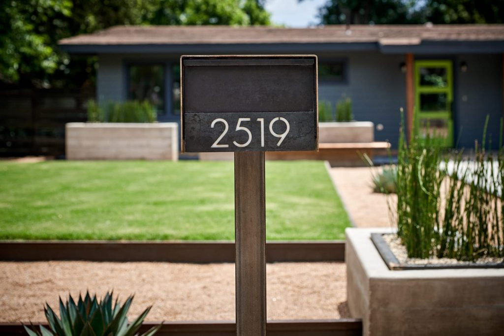 Campaigne Residence landscape design project by LUSH GreenScape Design in Austin, TX