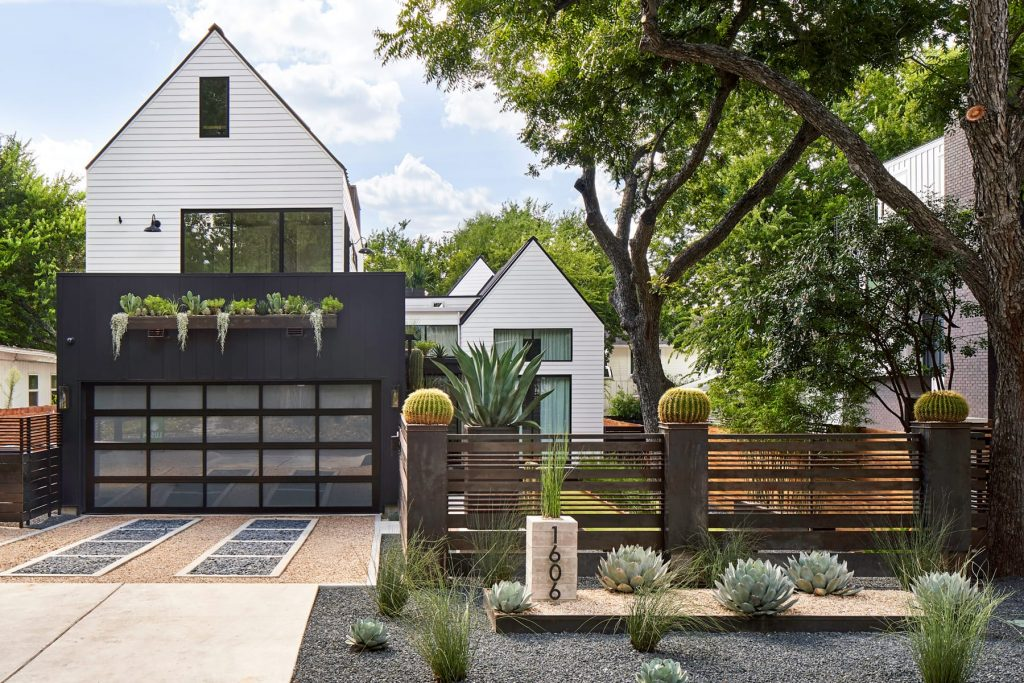 Casa Medrano landscape design project by LUSH GreenScape Design in Austin, TX