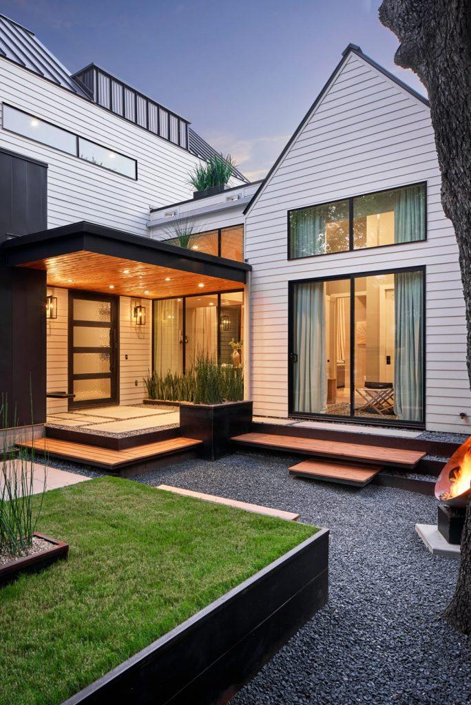 Casa Medrano landscape design project by LUSH GreenScape Design in Austin, TX