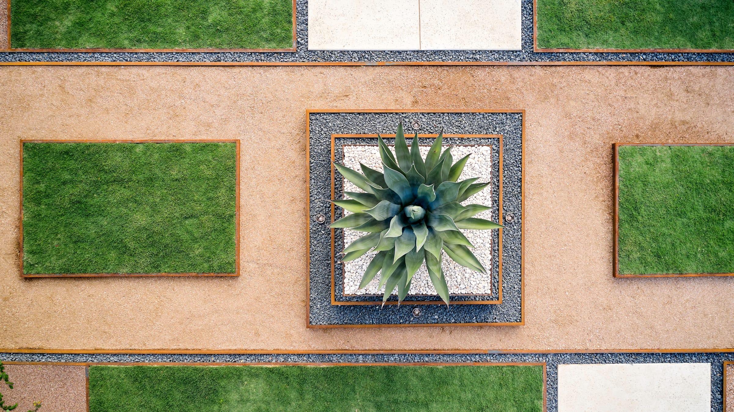 Doehne Oaks sustainable landscape design in New Braunfels, TX by LUSH GreenScape Design