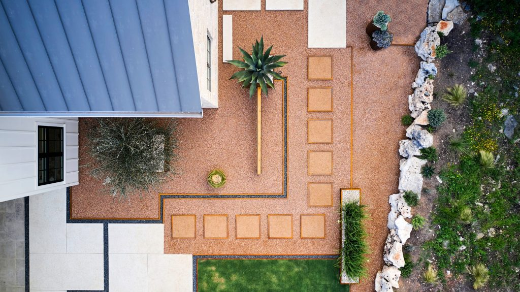 Doehne Oaks sustainable landscape design in San Marcos, TX by LUSH GreenScape Design
