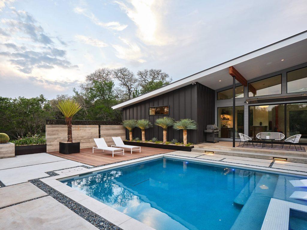 Aquifer Oaks sustainable landscape design in San Marcos, TX by LUSH GreenScape Design