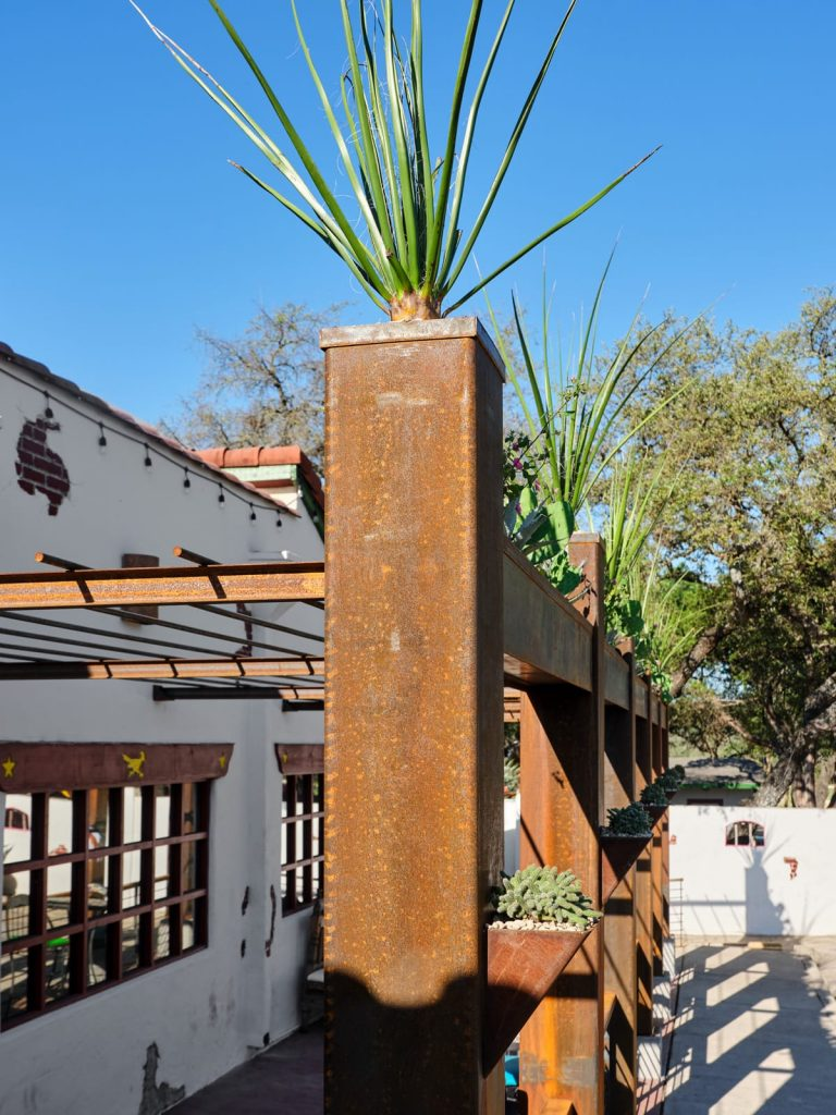 El Chaparral sustainable landscape design in Helotes, TX by LUSH GreenScape Design